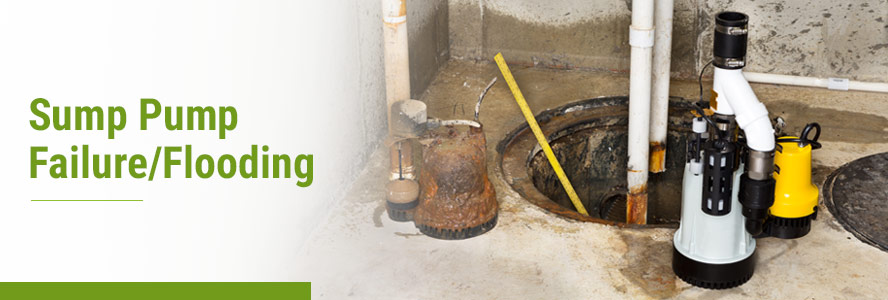 Sump Pump Failure/Flooding Services by Teasdale Fenton
